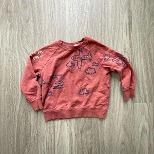 Zara Sweatshirt 18-24m
